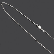 Gold Chains for Pendants: Ladies 10K Gold Chain 16 to 18 inches long