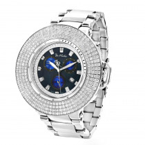 Hip Hop Watches: Joe Rodeo Razor Mens Iced Out Diamond Bezel Watch 10.4ct