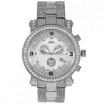 Iced Out Mens Diamond Aqua Master Watch 11.5ct