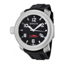 Invicta Watches: Men's Sea Hunter Black Dial Black Polyurethane 1544