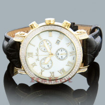 Joe Rodeo Diamond Watch 1.75ct White MOP Yellow Gold