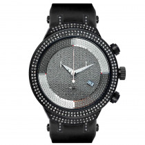 Joe Rodeo Master Diamond Watch 2.20ct Black Ceramic