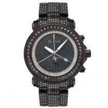 Joe Rodeo Mens Watches Junior Black Diamond Watch 27ct