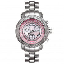 Joe Rodeo Rio Womens Diamond Watch 1.25ct Pink MOP