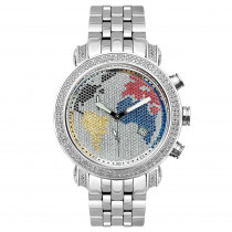 Joe Rodeo Watch - Tyler World Map, 2.00ct White Case
