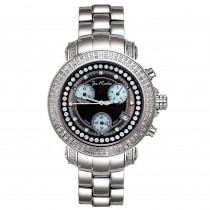 Joe Rodeo Womens Diamond Watch 1.25ct Rio Black MOP