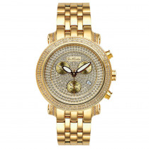 JoJo Diamond Watch Joe Rodeo 3.50ct Yellow Gold
