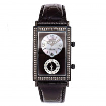 JoJo Joe Rodeo Diamond Watch 1.76ct Black Manhattan