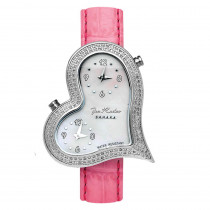 JoJo Joe Rodeo Ladys Diamond Heart Watch 1.4ct Sahara