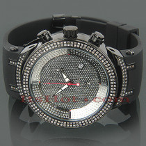 JoJo Joe Rodeo Master Diamond Watch 2.20ct Black