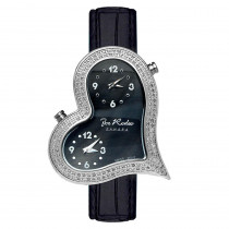 JoJo Ladys Diamond Joe Rodeo Heart Watch 1.4ct Sahara