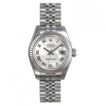 Ladies ROLEX Oyster Watch Perpetual Datejust White