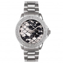 Ladies Watches Joe Rodeo Jojo Zibra Diamond Watch 1.25