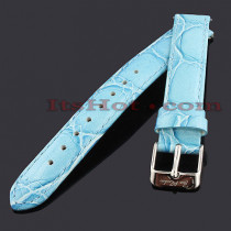 Leather Watch Bands: Joe Rodeo Watch Strap 14mm Blue