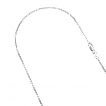 LUXURMAN Solid 10k Gold Curb Chain For Men & Women Gourmette 1.5mm
