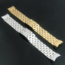 Luxurman Watch Diamond Band Stainless Steel for Raptor Watches 0.75ct