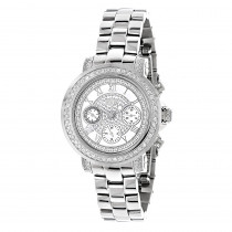 Mens and Ladies Diamond Watches: Luxuman Diamond Watch 2ct