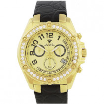 Mens Diamond Aqua Master Watch 1.70ct Yellow