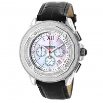 Mens Diamond Bezel Watch by Centorum Falcon 0.55ct