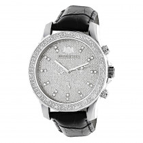 Mens Diamond Watch 0.25ct by Luxurman