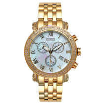 Mens Diamond Watch Joe Rodeo Classic 1.75ct Yellow