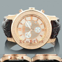 Mens Diamond Watches: Joe Rodeo Watch JoJo 2000 Rose Gold