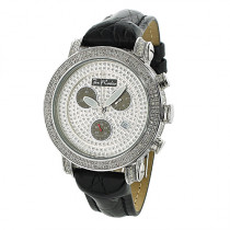 Mens Joe Rodeo Classic Diamond Bezel Watch 3.5ct