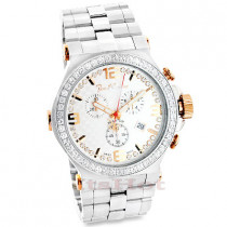 Mens Joe Rodeo Diamond Watch 3.25ct Phantom
