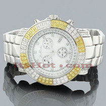 Mens Joe Rodeo Junior Diamond Watch 4.75ct