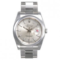 Mens ROLEX Oyster Watch Perpetual Datejust Silver