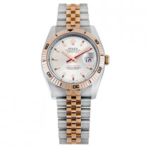 Mens ROLEX Oyster Watch Perpetual Datejust Two-Tone