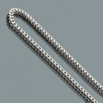 Mens Stainless Steel Franco Chain Necklace 6mm 30""