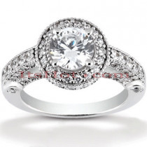 Platinum Diamond Engagement Ring 1.99ct