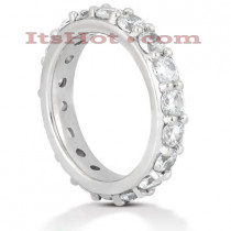 Platinum Diamond Eternity Band 2.70ct