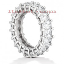 Platinum Diamond Eternity Ring 6.65ct
