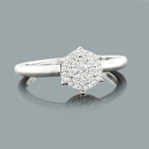 Pre Engagement Diamond Ring 0.23ct 14K Gold