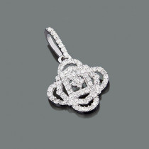 Sparkling Ladies Diamond Pendant 0.29ct 14K Gold