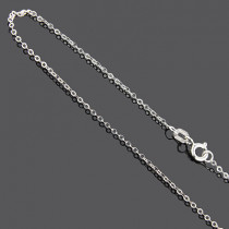 Sterling Silver Cable Chain 16 in