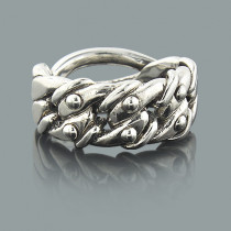 Sterling Silver Jewelry: Designer Ring Made in New York