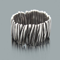 Sterling Silver Rings: Handmade Designer Jewelry Piece
