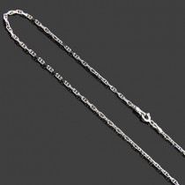 """Thin Anchor Chain in 14K Gold 2mm 20"""""""