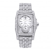 Unique Iced Out Diamond Breitling for Bentley Flying B Watch for Men 20ct