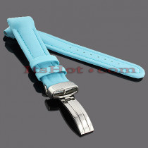 Watch Bands: Benny & Co Polyurethane Watch Band 20mm Blue