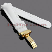 Watch Bands: Joe Rodeo Polyurethane Watch Band 24mm White