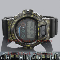 Yellow Diamond G Shock Watch 5.25ct