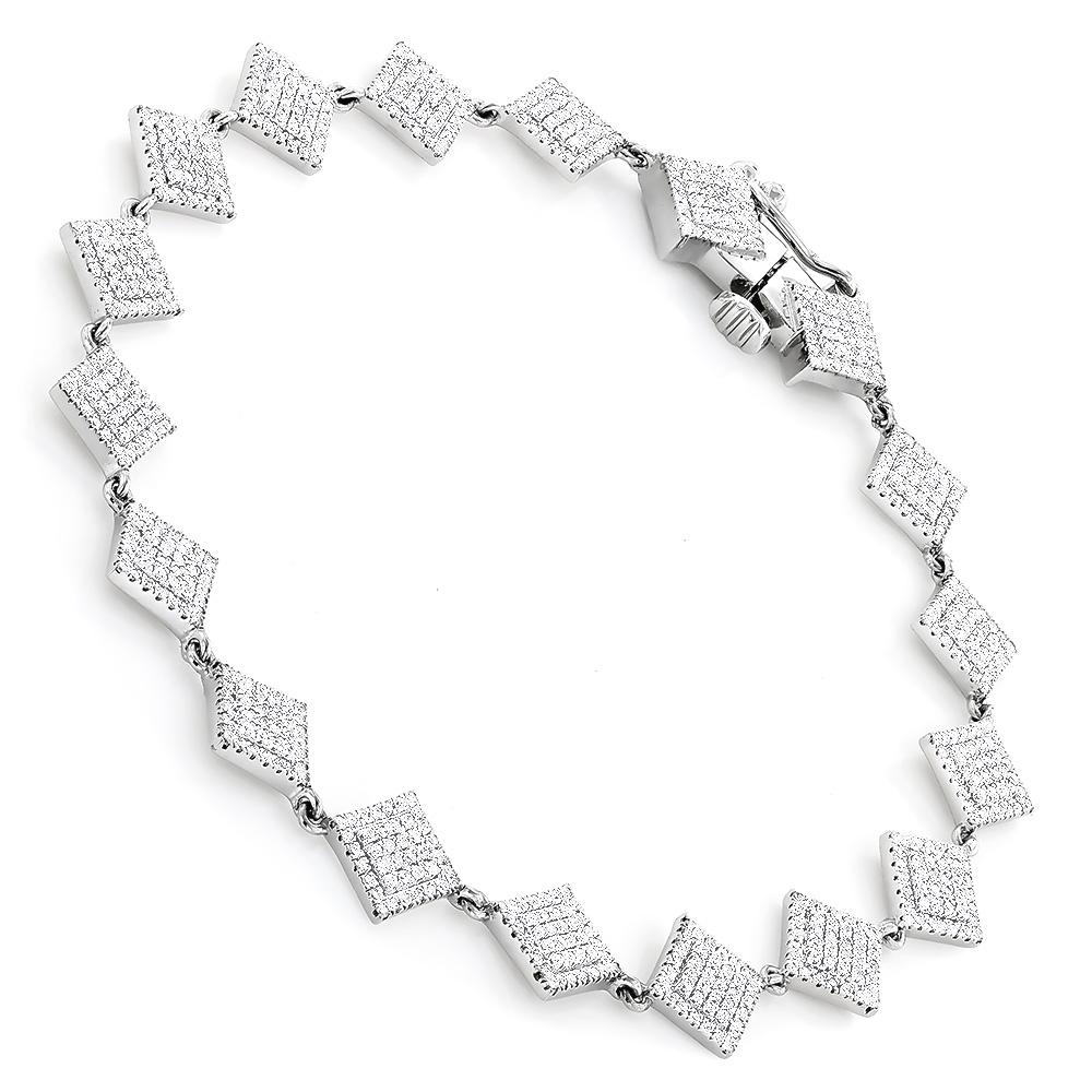 Delicate Diamond Bracelet For Women in 14K Gold