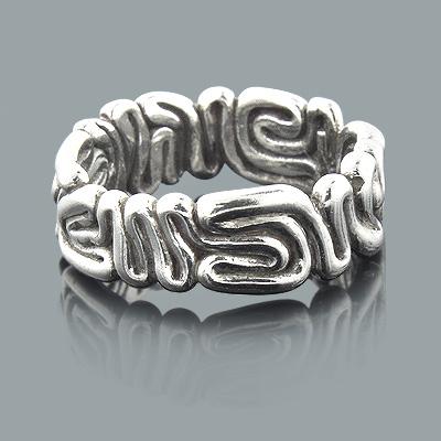 Designer Sterling Silver Rings: Handmade Jewelry Piece