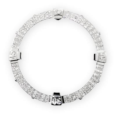 Diamond Bezel for Breitling Super Avenger 1.40ct Custom Made Watch Bezels