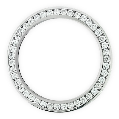 Diamond Bezel for Breitling Super Avenger  6 ct Custom Made Watch Bezels