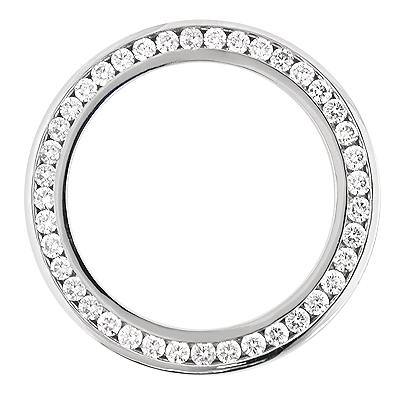 Diamond Bezel for Breitling Super Avenger 7ct Custom Made Watch Bezels